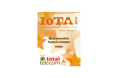 Most Innovative Platform Solution of the Internet of Things Award