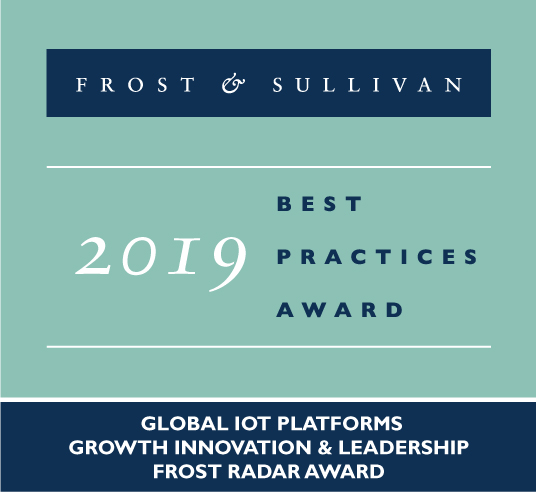 IoT Platforms - Global - Growth, Innovation and Leadership Frost Radar Award 2019