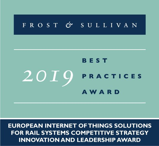 European Internet of Things Solutions for Rail Systems Competitive Strategy Innovation and Leadership Award 2019