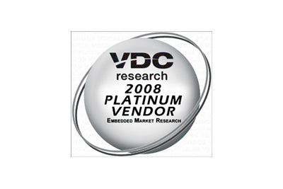 VDC 2008 Platinum Embedded Board Vendor Award