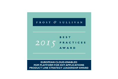 Frost & Sullivan Best Practices Award 2015