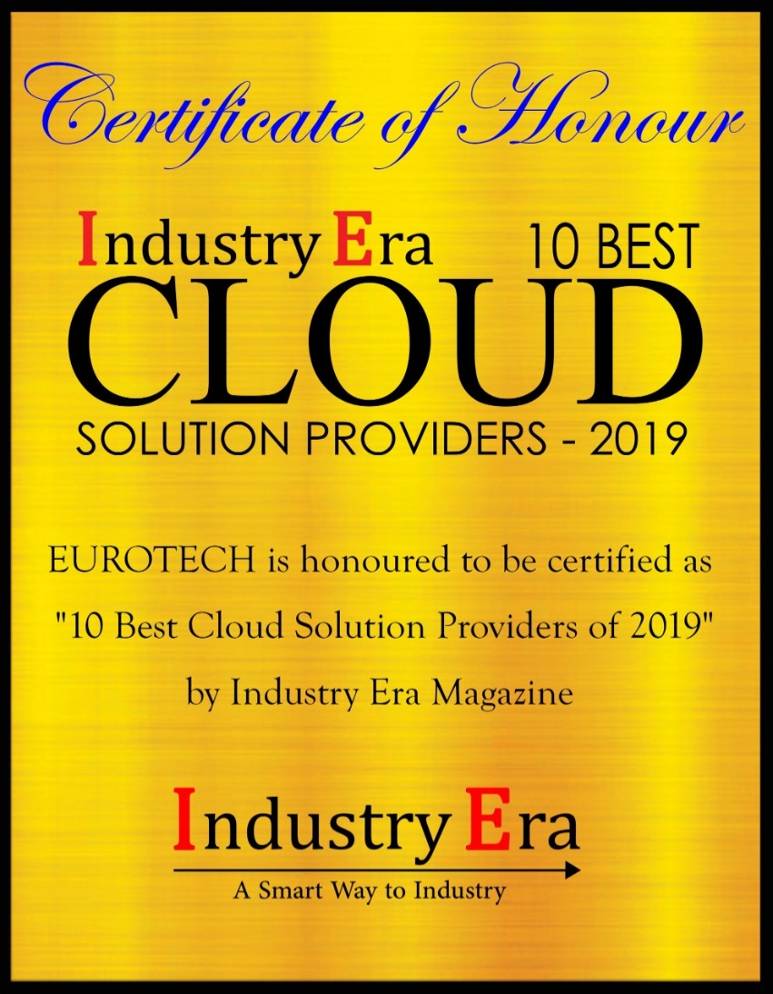 Eurotech among the 10 best cloud solution providers 2019