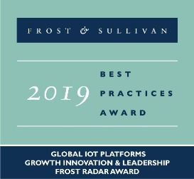 Frost & Sullivan Global IoT Platforms Growth Innovation and Leadership Frost Radar Award