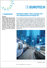 On-board Smart Data Logging for the Transportation industry