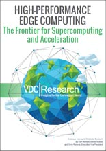 High Performance Edge Computing - The Frontier for Supercomputing and Acceleration