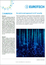 An end-to-end approach to IoT security