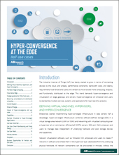 Hyper-Convergence at the Edge - IIoT Use Cases