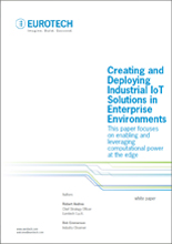 Creating and Deploying Industrial IoT (IIoT) Solutions in Enterprise Environment