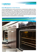 Asset Management in Food Services