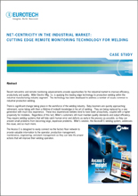 Net-Centricity in the Industrial Market: Cutting Edge Remote Monitoring Technology for Welding