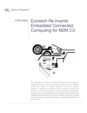 Eurotech Re-Invents Embedded Connected Computing for M2M 2.0