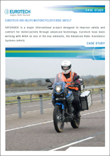 Eurotech ISIS helps motorcyclists ride safely