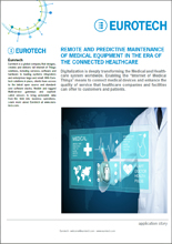 Remote and Predictive Maintenance of Medical Equipment in the Era of the Connected Healthcare