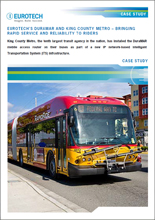 Eurotech DuraMAR and King County Metro: Bringing Rapid Service and Reliability to Riders
