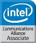 Intel Accociate Logo