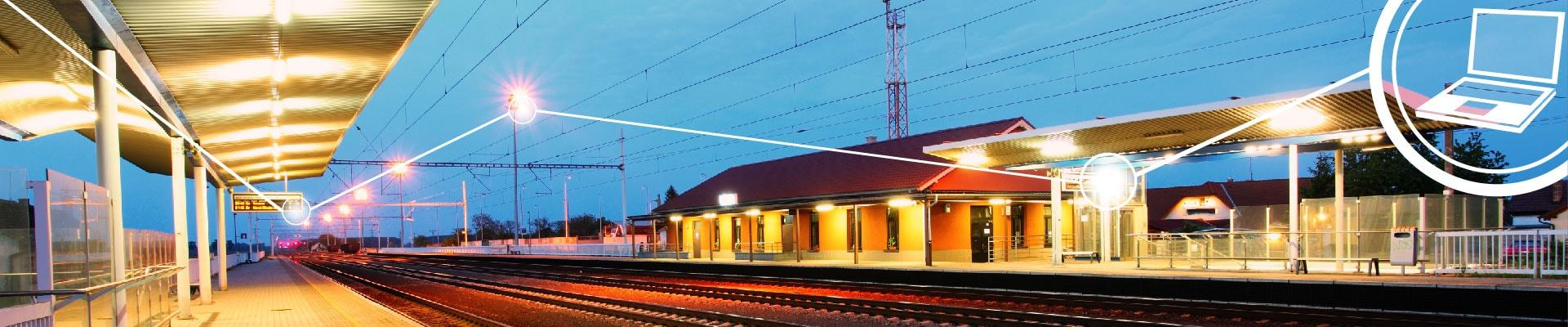 Train Station Eurotech IoT/M2M platform